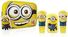 Düfte, Parfümerie und Kosmetik Badeset - Corsair Despicable Me Minions (Shampoo 100ml + Duschgel 100ml + Badeschwamm + Kosmetiktasche)