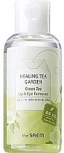 Düfte, Parfümerie und Kosmetik Augen- und Lippen-Make-up Entferner mit Grüntee-Extrakt - The Saem Healing Tea Garden Green Tea Lip & Eye Remover