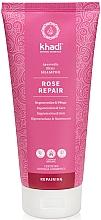 Düfte, Parfümerie und Kosmetik Regenerierendes und pflegendes Shampoo mit Rose - Khadi Shampoo Rose Hair Repair