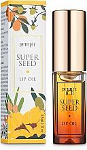 Düfte, Parfümerie und Kosmetik Pflegendes Lippenöl mit 11 pflanzlichen Ölen - Petitfee&Koelf Super Seed Lip Oil