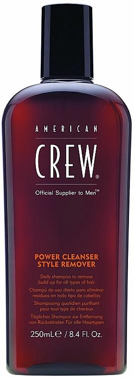 Tägliches Shampoo zur Entfernung von Rückständen für alle Haartypen - American Crew Power Cleanser Style Remover — Bild N1