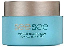 Düfte, Parfümerie und Kosmetik Nachtcreme mit Mineralien aus dem Toten Meer - See See Mineral Night Cream