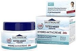 Düfte, Parfümerie und Kosmetik Beruhigende Feuchtigkeitspflege mit Difensil und Hyaluronsäure für trockene und empfindliche Haut - Salthouse Hydro Active Cream 24h