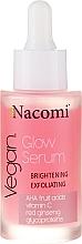Düfte, Parfümerie und Kosmetik Aufhellendes Peeling-Serum für das Gesicht - Nacomi Glow Serum Brightening & Exfoliating Serum