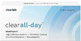 Düfte, Parfümerie und Kosmetik Bionische Monatslinsen 3 St. - Clearlab Clear All-day