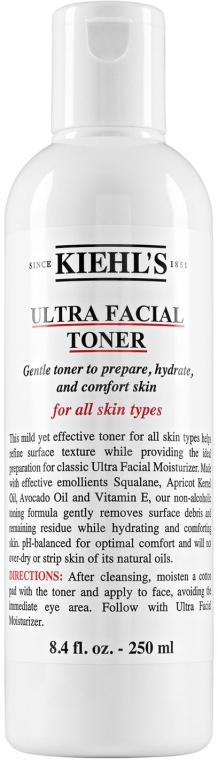 Feuchtigkeitsspendendes Gesichtstonikum - Kiehl's Ultra Facial Toner — Bild N1