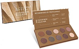 Düfte, Parfümerie und Kosmetik Augenbrauen Lidschatten-Palette - Affect Cosmetics Color Brow Collection
