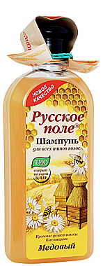 Bio-Shampoo für alle Haartypen mit Honig - Fratti HB Russisches Feld — Bild N1
