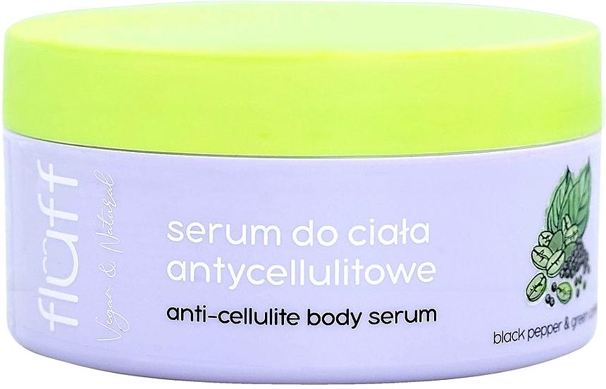 Anti-Cellulite Körperserum mit schwarzem Pfeffer und grünem Kaffee - Fluff Anti-Celluite Body Serum — Bild N1