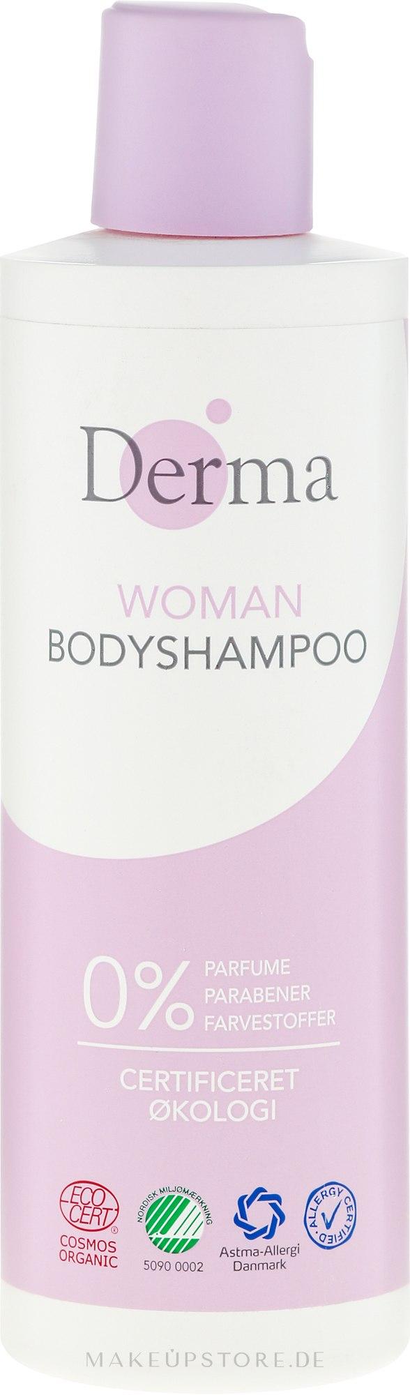 Duschgel - Derma Eco Woman Body Shampoo — Bild 250 ml