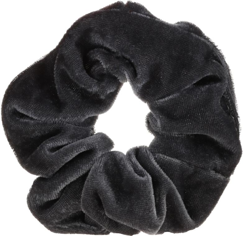 Haargummi Velvet 22777 grau - Top Choice — Bild N1