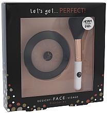 Düfte, Parfümerie und Kosmetik Set - Cosmetic 2K Let's Get Perfect! Bronzer Set Medium/Dark (bronzer/10g + brush/1pcs)