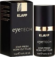 Straffendes Fluid für den Augenbereich gegen dunkle Schatten und Schwellungen - Klapp Eyetech Star Fresh Work Out Fluid — Bild N1