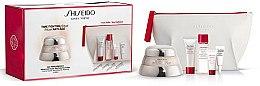 Düfte, Parfümerie und Kosmetik Gesichtspflegeset - Shiseido Bio-Performance Advanced Super Revitalizing Kit (Gesichtscreme 50ml + Reinigungsschaum 15ml + Aufweichende Gesichtscreme 30ml + Gesichtskonzentrat 5ml + Augencreme 3ml + Kosmetiktasche)