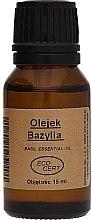 Düfte, Parfümerie und Kosmetik Natürliches Öl mit Basilikum - Biomika Oil Basil