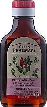 Düfte, Parfümerie und Kosmetik Klettenöl mit rotem Pfeffer zum Haarwachstum - Green Pharmacy