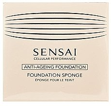Düfte, Parfümerie und Kosmetik Foundation-Schwamm - Kanebo Sensai Cellular Performance Foundation Sponge Make Up (1 St.)