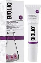 Düfte, Parfümerie und Kosmetik Straffende und glättende Augen- und Lippencreme - Bioliq 45+ Firming And Smoothening Eye And Mouth Cream