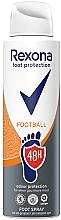 Düfte, Parfümerie und Kosmetik Erfrischendes Fußspray - Rexona Football Spray