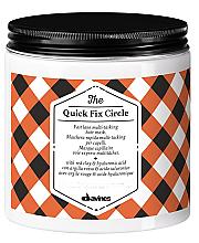 Düfte, Parfümerie und Kosmetik Haarmaske mit roter Tonerde und Hyaluronsäure - Davines Quick Fix Circle Hair Mask