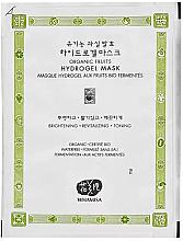 Düfte, Parfümerie und Kosmetik Hydrogel Gesichtsmaske - Whamisa Organic Fruits Hydrogel Mask