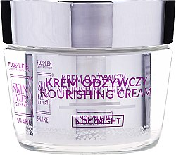Pflegende Nachtcreme - FlosLek Skin Care Expert Snake Noirishing Night Cream — Bild N2