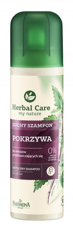 Trockenshampoo für fettiges Haar mit Brennnesselextrakt - Farmona Herbal Care Shampoo — Bild N1
