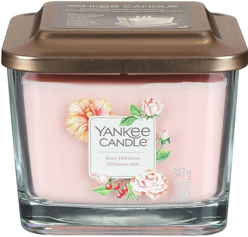 Duftkerze im Glas Rose Hibiscus - Yankee Candle Elevation Rose Hibiscus — Bild N2