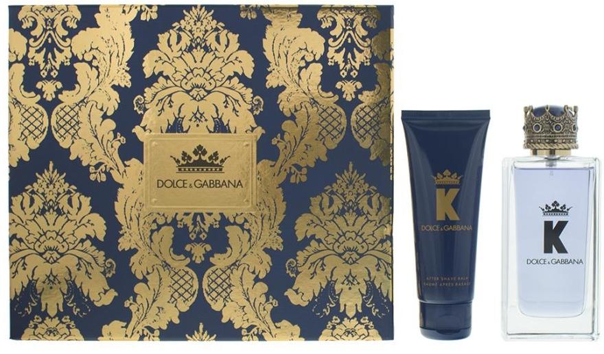 Dolce & Gabbana K by Dolce & Gabbana - Duftset (Eau de Toilette 100ml + After Shave Balsam 75ml) — Bild N1