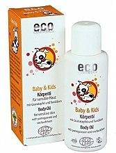 Düfte, Parfümerie und Kosmetik Körperöl für Babys und Kinder mit Granatapfel und Sanddorn - Eco Cosmetics Baby&Kids Body Oil