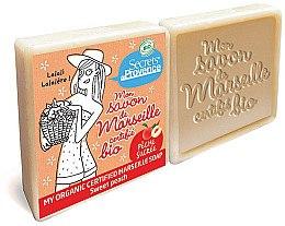 Düfte, Parfümerie und Kosmetik Bio Seife mit Pfirsich 2 St. - Secrets De Provence My Marseille Soap Sweet Peach (2x100g)