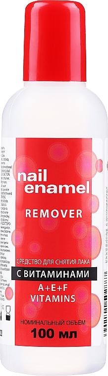 Nagellackentferner mit Vitaminen A, E und F - Venita Vitamin A+E+F Nail Enamel Remover