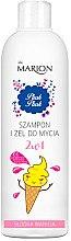 Düfte, Parfümerie und Kosmetik 2in1Erfrischendes Haar- & Bartshampoo + Duschgel - Marion Plusk Plusk Shampoo & Shower Gel Sweet Vanilla