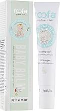Düfte, Parfümerie und Kosmetik Veganer Körperbalsam für Babys mit Panthenol und Sepitonic - Roofa Vegan Baby Balm Panthenol & Sepitonic