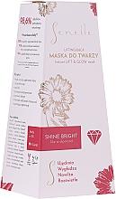 Düfte, Parfümerie und Kosmetik Straffende Gesichtsmaske mit Akmella-Extrakt - Senelle Instant Lift & Glow Mask