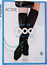 Düfte, Parfümerie und Kosmetik Damenkniestrümpfe mit Fußmassageeffekt Active 20 Den grafit - Knittex