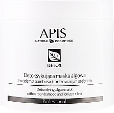 Düfte, Parfümerie und Kosmetik Detox-Gesichtsmaske mit Algen - APIS Professional Detox Mask