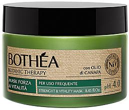 Düfte, Parfümerie und Kosmetik Stärkende und vitalisierende Haarmaske - Bothea Botanic Therapy Strenght Vitality Mask pH 4.0