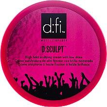 Düfte, Parfümerie und Kosmetik Haarstylingcreme mit starkem Halt und leicht glänzendes Finish - D:fi d:sculpt High Hold Low Shine Hair Sculptor
