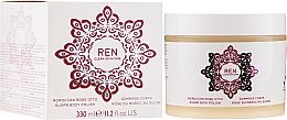 Düfte, Parfümerie und Kosmetik Zuckerpeeling für den Körper mit marokkanischer Rose - Ren Moroccan Rose Otto Sugar Body Polish