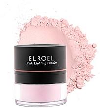 Highlighter - Elroel Pink Lighting Powder — Bild N2