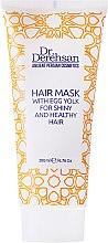 Düfte, Parfümerie und Kosmetik Nährende Haarmaske mit Eigelb - Hristina Cosmetics Dr. Derehsan Hair Mask Egg Yolk