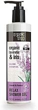Düfte, Parfümerie und Kosmetik Entspannendes Duschgel mit Bio Lavendelöl und Iris - Organic Shop Organic Shop Organic Lavender and Iris Relax Shower Gel