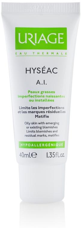 Gesichtscreme für fettige und zu Akne neigende Haut - Uriage Hyséac A.I. Anti Blemish Skin-Care — Bild N1