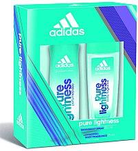 Düfte, Parfümerie und Kosmetik Adidas Pure Lightness - Kosmetikset (Deodorant/150ml + Körperspray/75ml)
