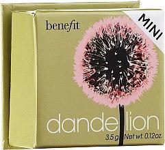 Düfte, Parfümerie und Kosmetik Benefit Dandelion Blush Powder - Gesichtsrouge (Mini)