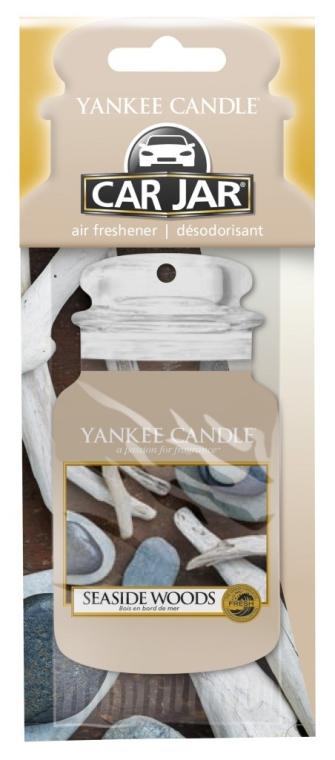 Papier-Lufterfrischer Seaside Woods - Yankee Candle Car Jar Seaside Woods — Bild N1