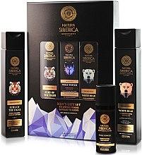 Körperpflegeset für Männer - Narura Siberica Men (Shampoo 250ml + Duschgel 250ml + Gesichtscreme 50ml) — Bild N3