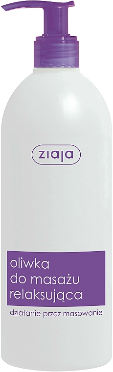 Entspannendes Masssageöl - Ziaja Body Oil — Bild N1