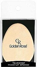 Düfte, Parfümerie und Kosmetik Make-up Schwamm - Golden Rose Teardrop Make-Up Sponge